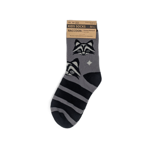 Children's Raccoon Socks