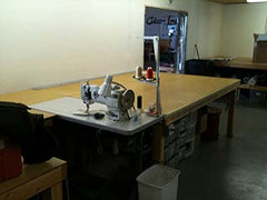 Canvas Experts Sewing Area