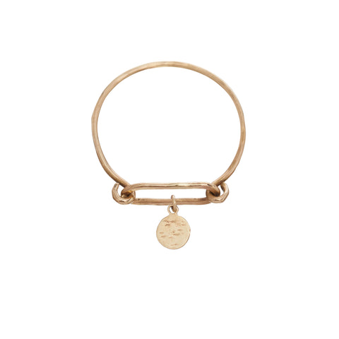 The Loop Ring with Charms