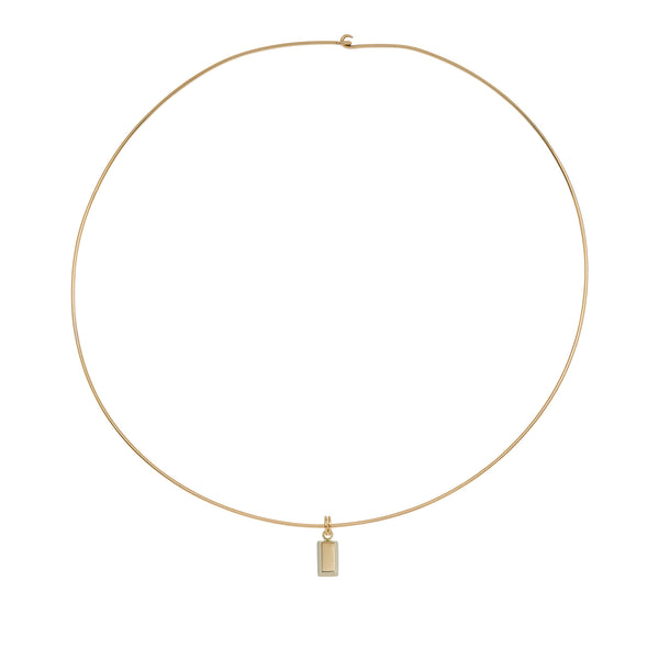 Gold Bar 1gr. Love Necklace