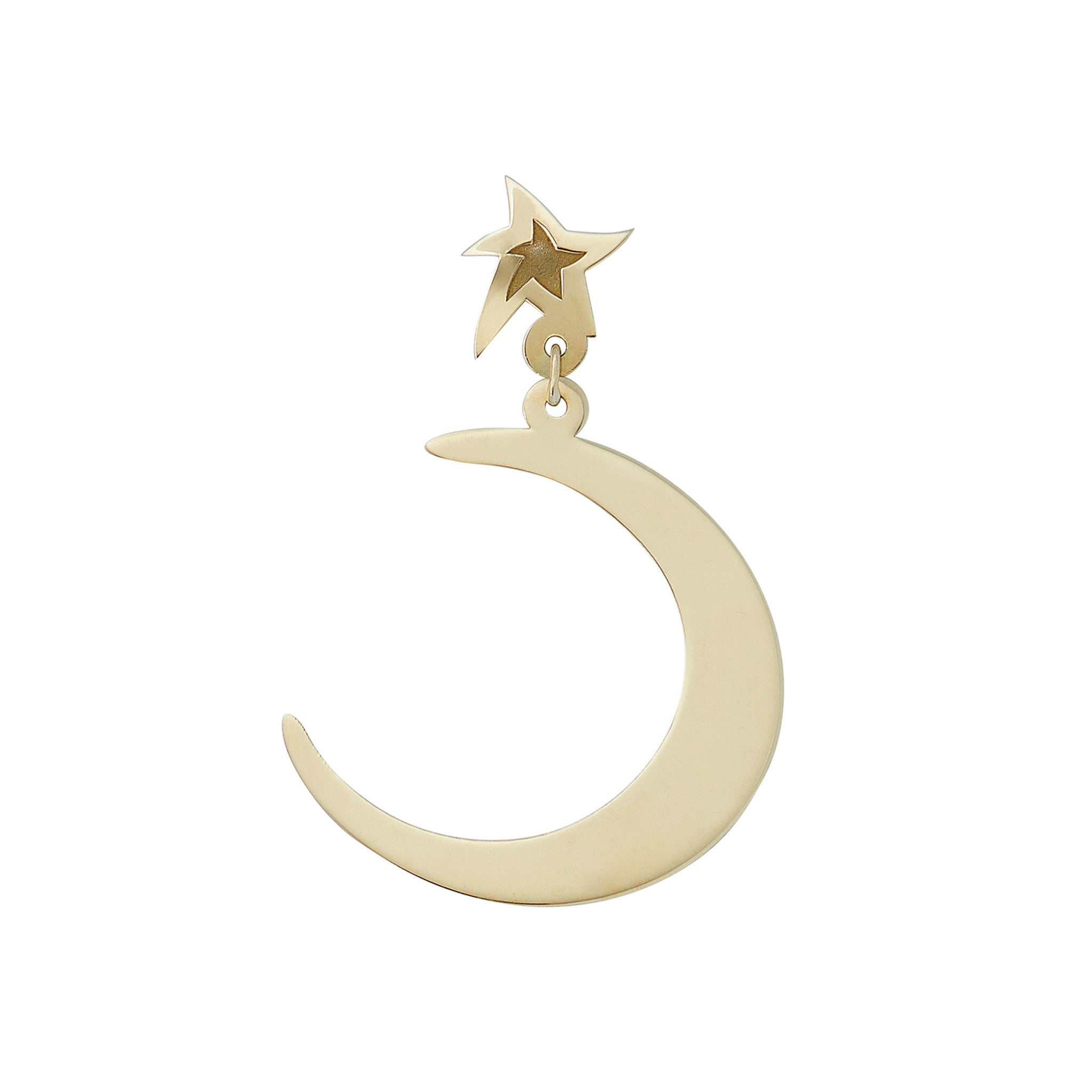The Moon Singlet earring