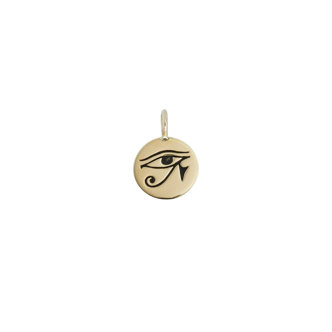 Eye of Horus mini coin necklace