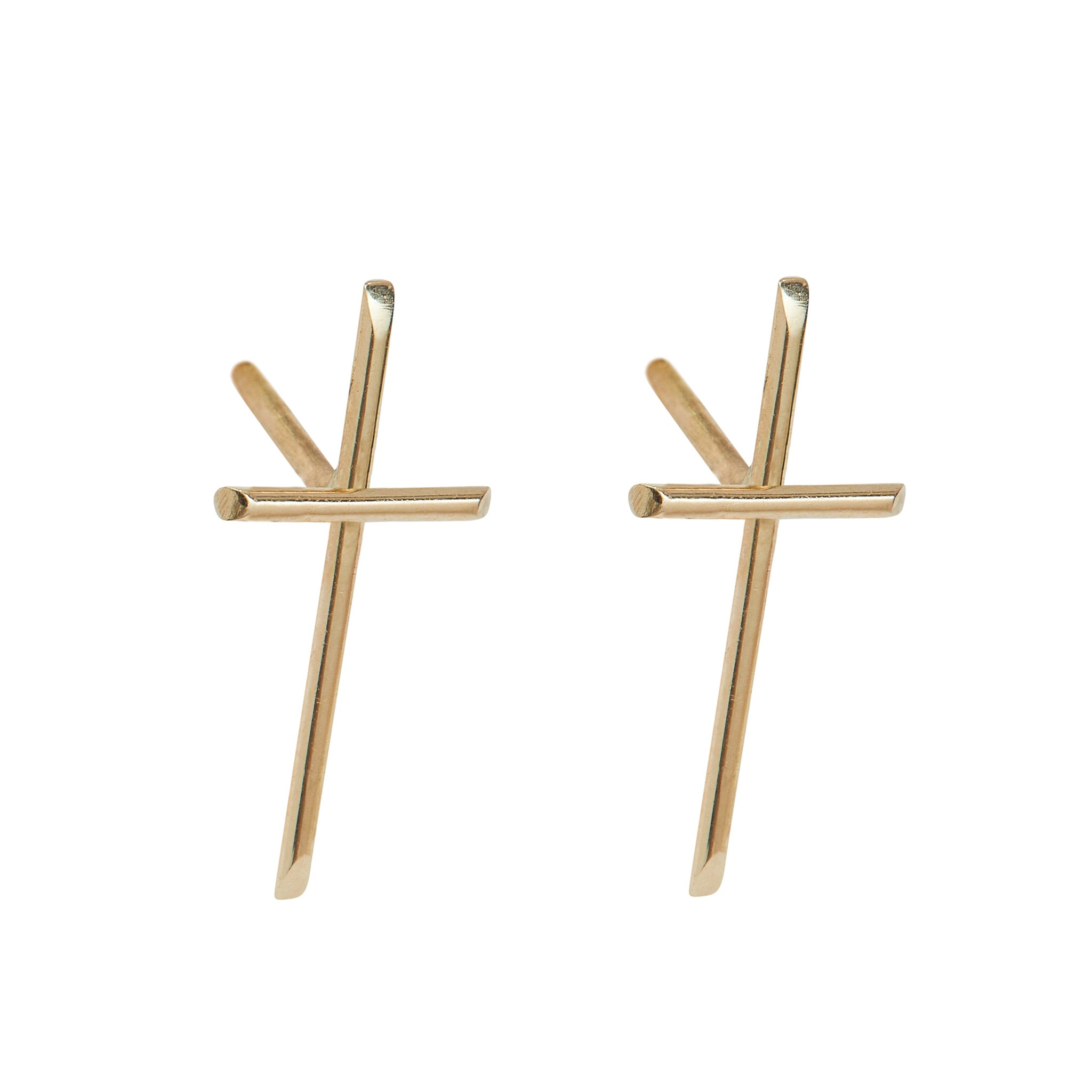 Cross Fitchy Mini Studs