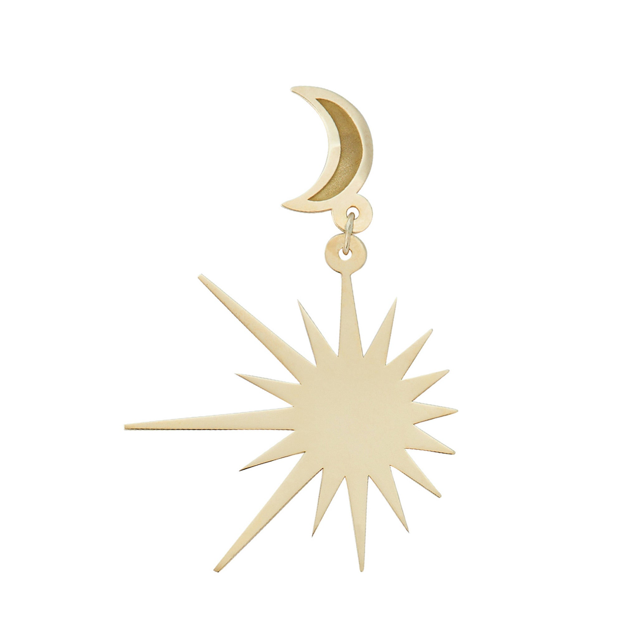 The Sun Singlet earring