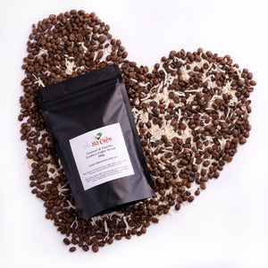 Coconut & Vanilla Arabica Coffee Scrub