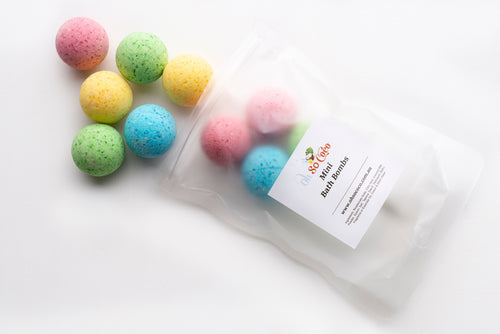 Mini Bath Bombs 10 Pack