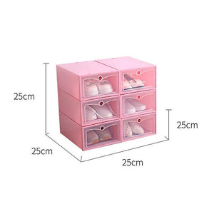 Drawer Type Shoe Box 12 pcs