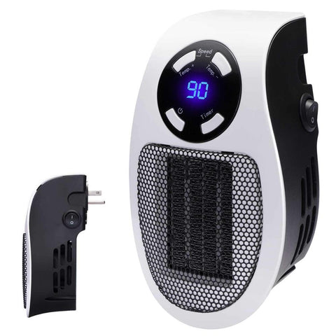 Wall Plug Outlet Small Space Heater