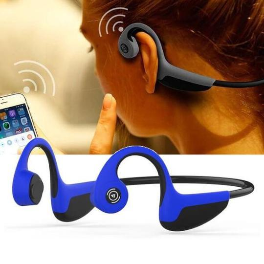 Bone Conduction Headphones Waterproof Bluetooth 5.0 Sport Headset