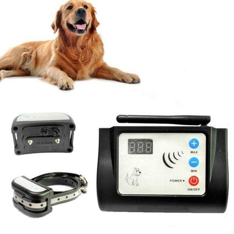 Wireless Dog Fence With Training Collar
