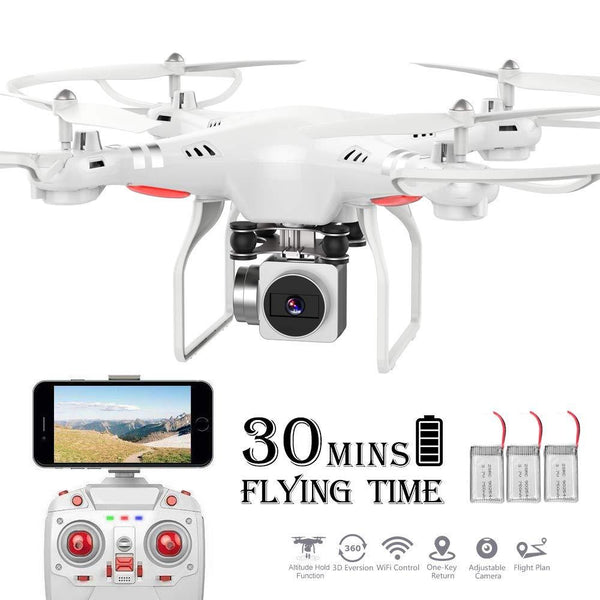 Waterproof Wifi Drone Splash Auto with 1080p Camera Live Video and GPS