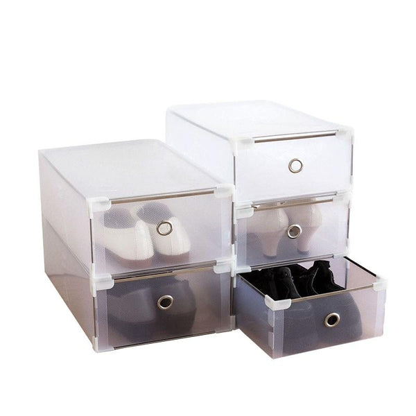 Shoe Box Storage Organizer 9 PCS