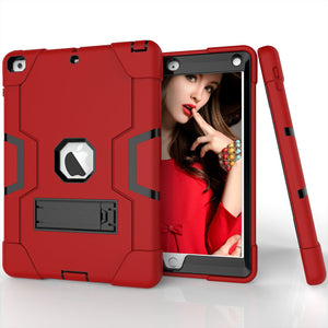 "2019 iPad 10.2"" 7th Gen Shockproof Hybrid Heavy Duty Armor Stand Case Cover"