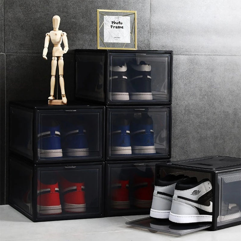Shoe Box Organizer Stacking Storage Box-50% OFF for Christmas