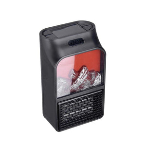 Space Heater 900W Mini Wall-Outlet Electric Heater