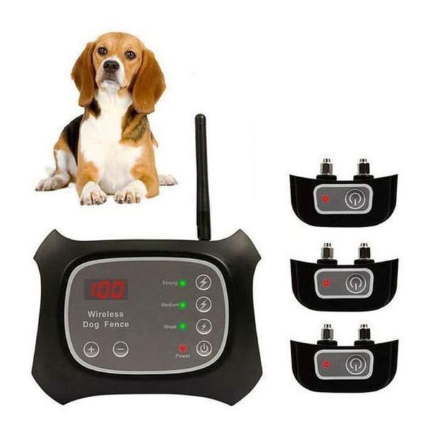 Invisible Wireless Dog Fence With Collar 1/2/3 PCS