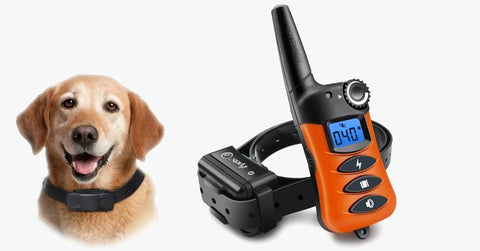 Dog Training Collar - Rechargeable Dog Shock Collar w/3 Training Modes, Beep, Vibration and Shock