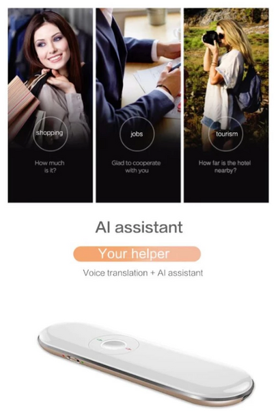 50+ Language Roo Instant Two-Way Voice Translator