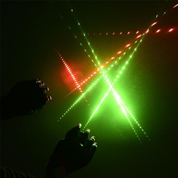 LED Laser Gloves