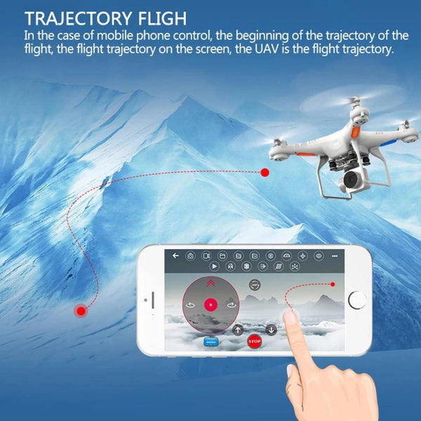 Gifts For Him-Waterproof Wifi Drone Splash Auto with 1080p Camera Live Video and GPS