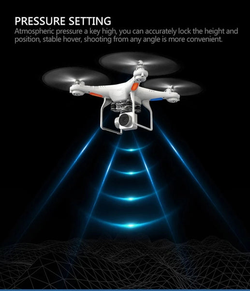 Anniversary Gifts For Him-Waterproof Wifi Drone Splash Auto with 1080p Camera Live Video and GPS