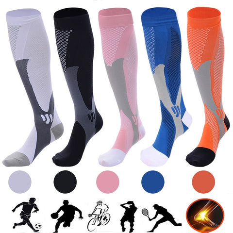 Compression Socks Best Graduated Athletic Fit for Running Socks