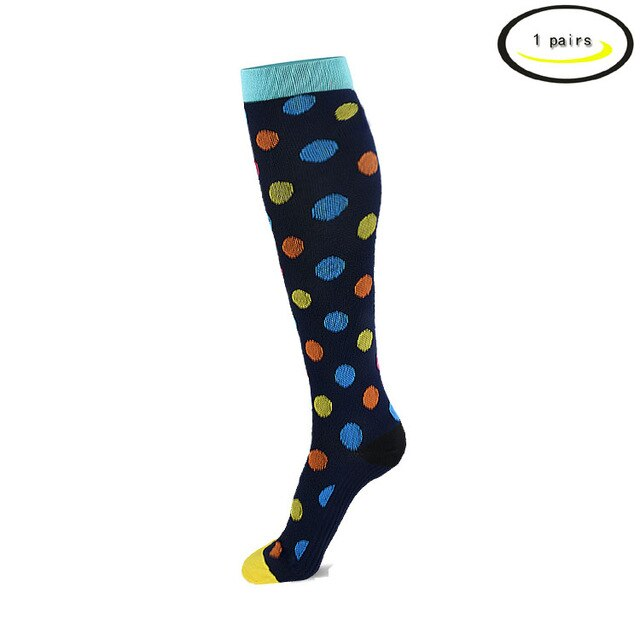 Compression Socks, Diabetic/Arthritic Sock Graduated Athletic & Medical for Men & Women