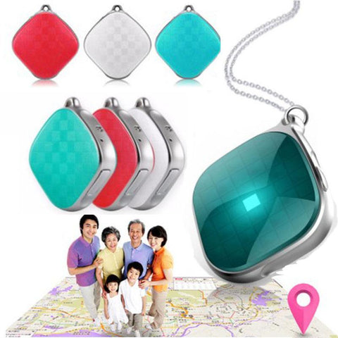 Mini GPS Tracking Device for Kids Pets GPS Tracker SOS Geo-fence Alarm