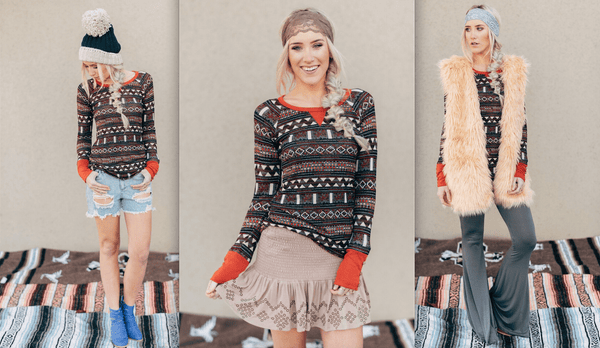 3 Ways To Wear: Fair Isle Thermal