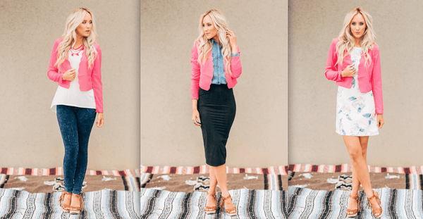 3 Ways To Wear: Scalloped Edge Blazer
