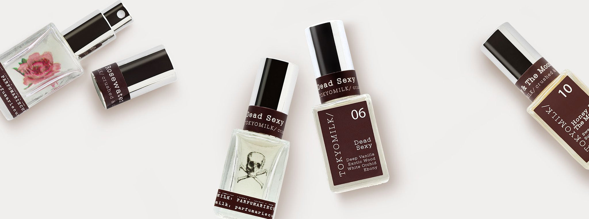 beauty bar Tokyo milk fragrance collection margo elena