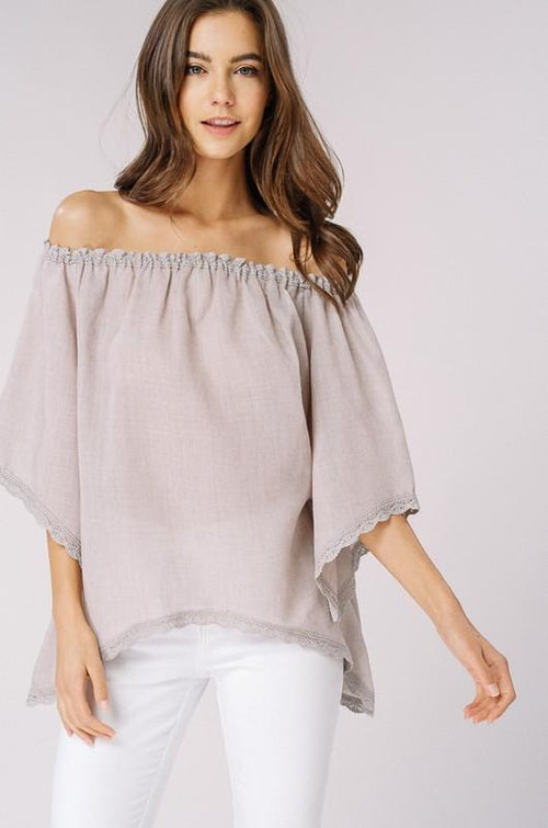 Picture Perfect Off The Shoulder Top