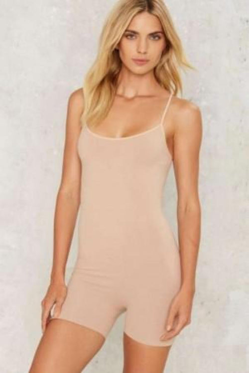 Seamless Under Romper - Nude
