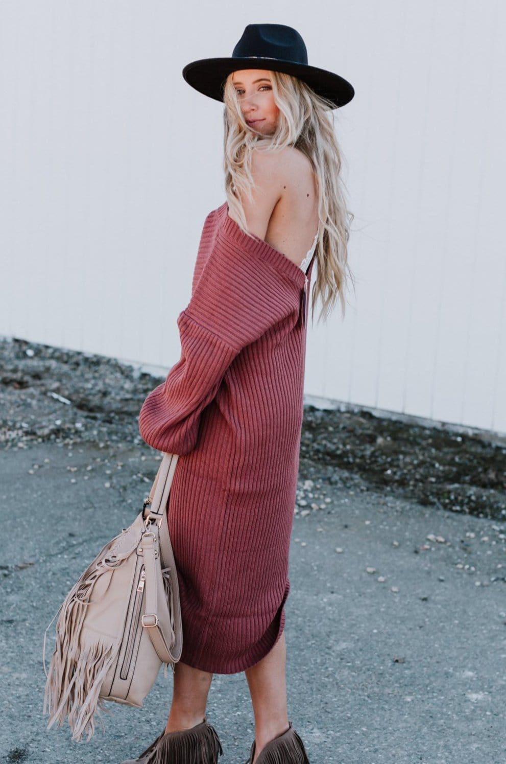Image of Everly Sweater Dress