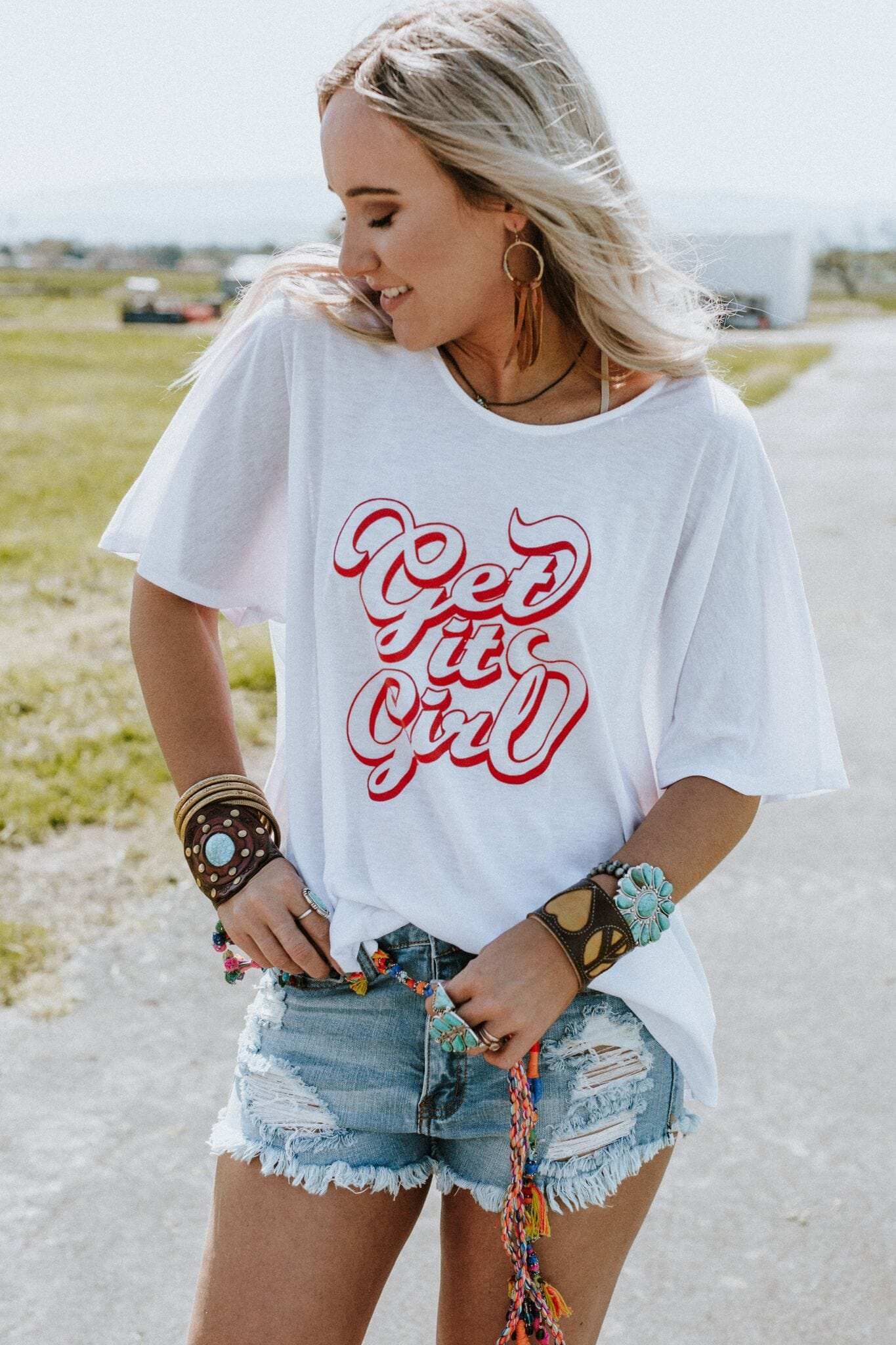 Get It Girl Graphic Tee