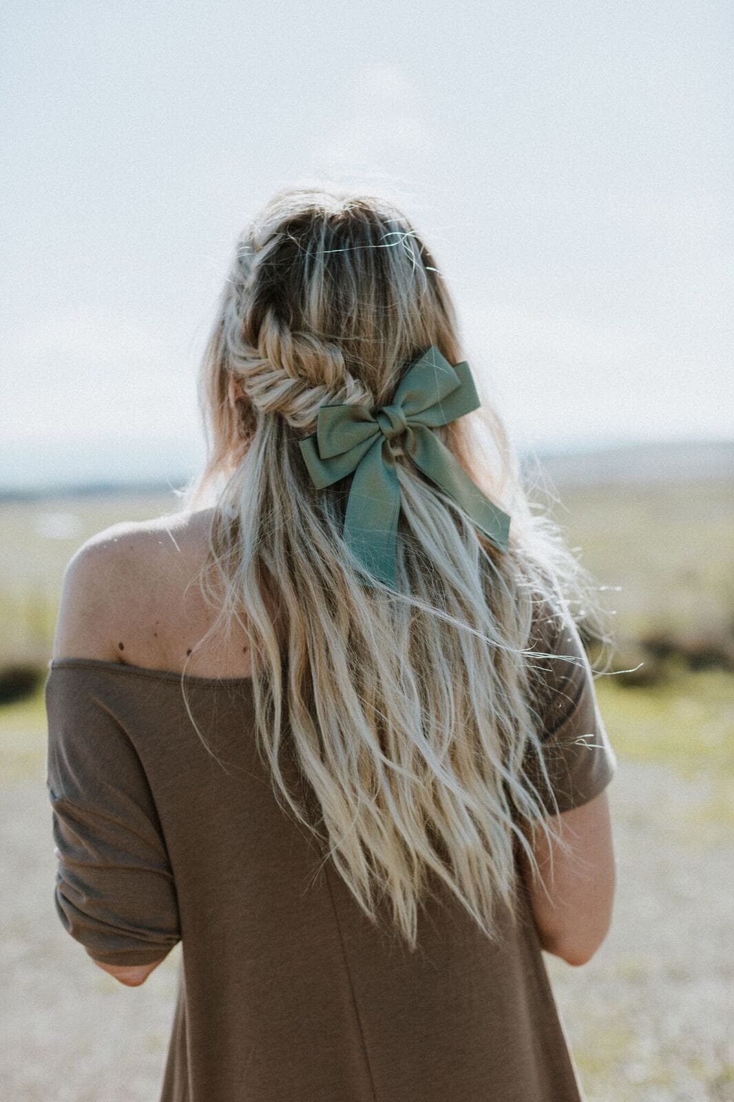 Bow In Back Of Hair