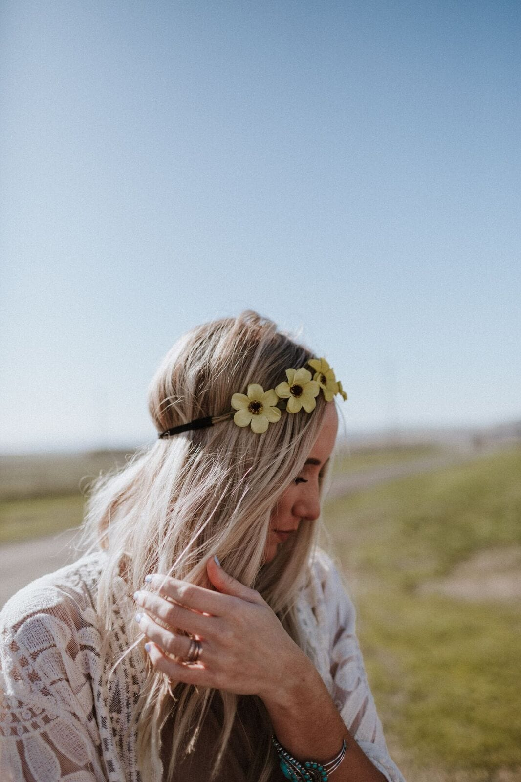 Yellow Petals Flower Crown