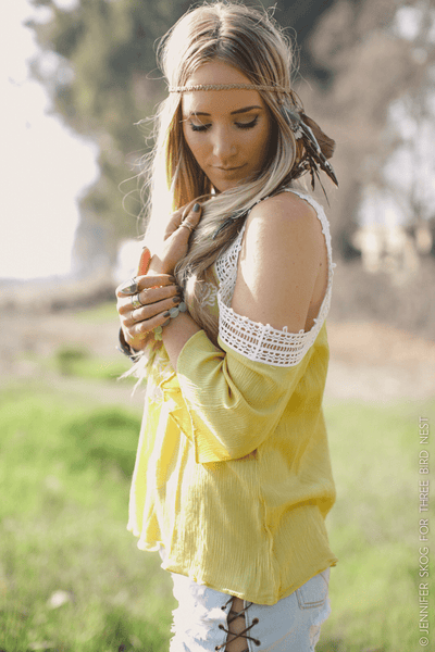 Braided Feather Headdress