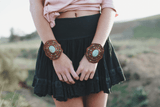 Boho Turquoise Cuff-Jewelry-Affordable Online Boutique | Cute + Trendy Women's Clothes - 4