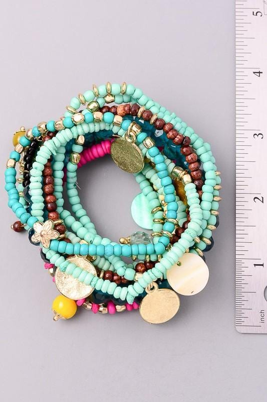 Gypsy Spirit Beaded Bracelet Set