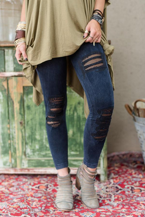 Kinda Rock Denim Jeggings