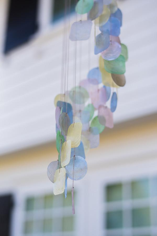 Pastel Capiz Shell Wind Chimes