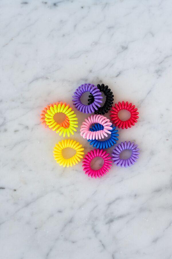 Telephone Cord Hair Tie Set