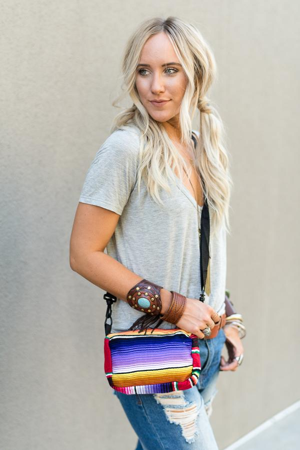 Serape Messenger Bag