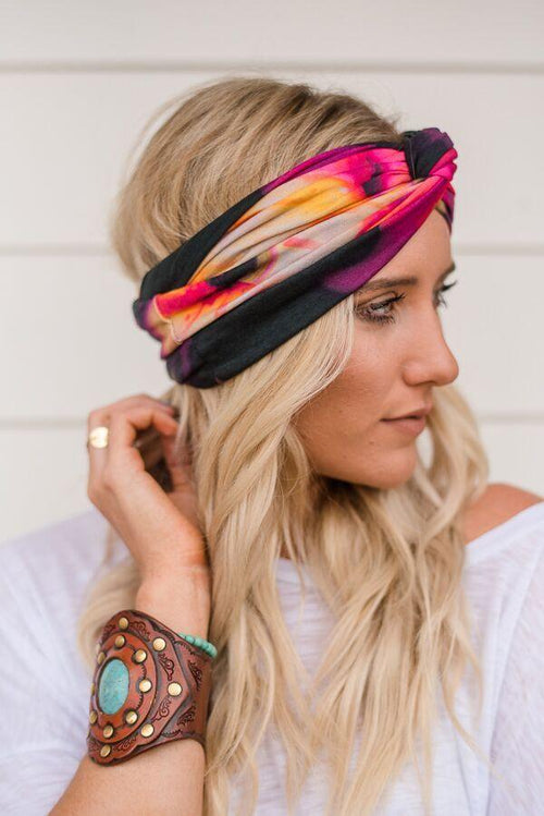 Sparrow Color Punch Wide Headband