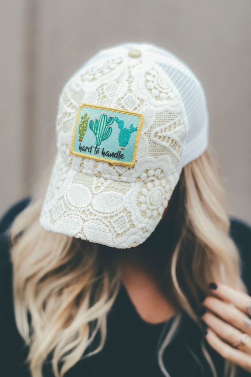 Hard to Handle Lace Baseball Hat