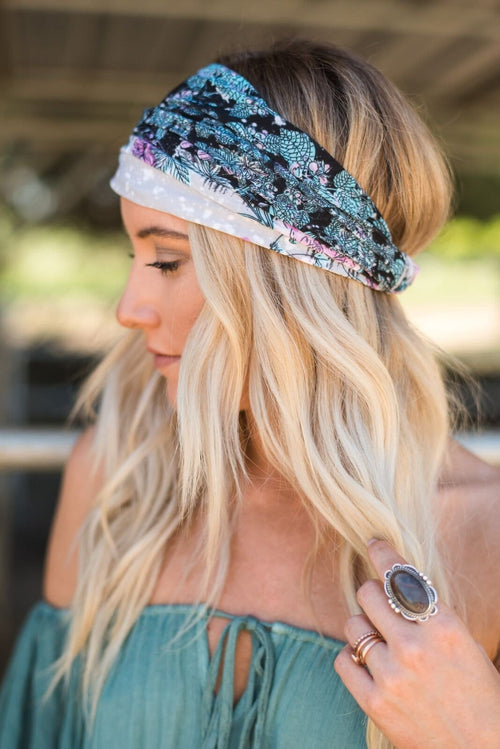 Midnight Lily Headwrap