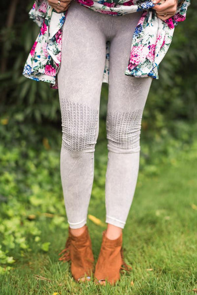 Moto Gray Silver Lining Skinny Jeggings