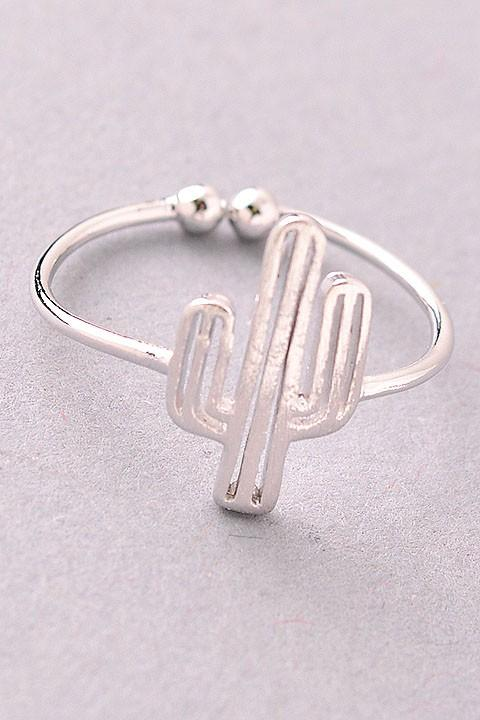 cute cactus rings