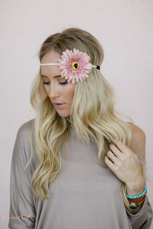 Spring Daisy Flower Crown